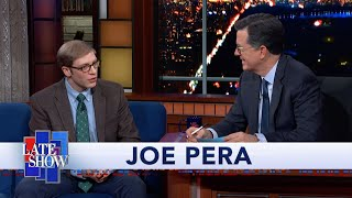 EXTENDED INTERVIEW: Joe Pera Talks To Stephen Colbert