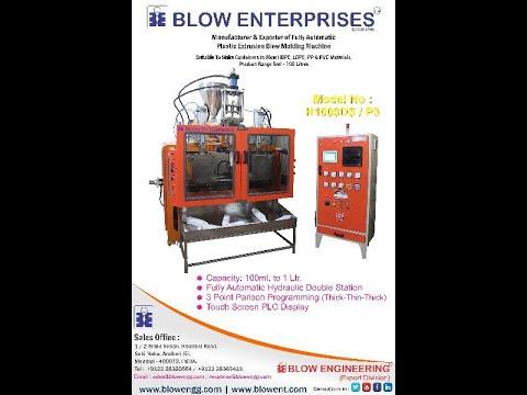 Parison Control Blow Molding Machine