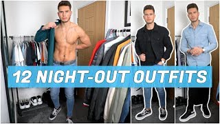 12 Simple Mens Night Out Outfits   Mens Fashion   Nightclub & Date Night Outfit Ideas