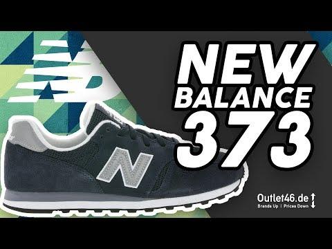 New Balance 373 Blau - DER SNEAKER-KLASSIKER  ? DEUTSCH Review l Overview l On Feet l Outlet46.de
