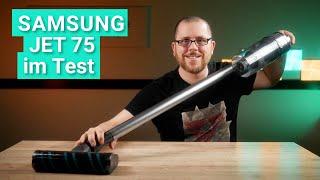 Samsung Jet 75 im Test - Der STARKE Akku-Staubsauger mit optionaler Absaugstation