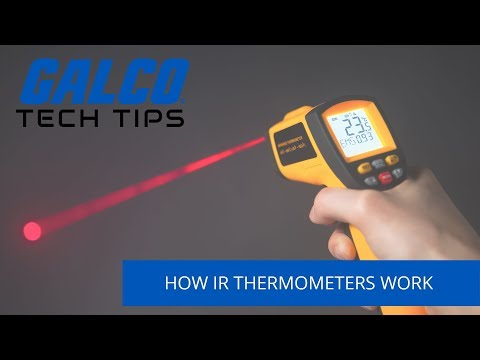 How does an Infrared Thermometer work? - A Galco TV Tech Tip