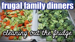 FRUGAL DINNERS ON A BUDGET | WHAT'S FOR DINNER? | COOK WITH ME PANTRY CHALLENGE FEBRUARY 2020