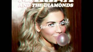 MARINA AND THE DIAMONDS | ♡ 'BUBBLEGUM BITCH' [Official Instrumental] ♡