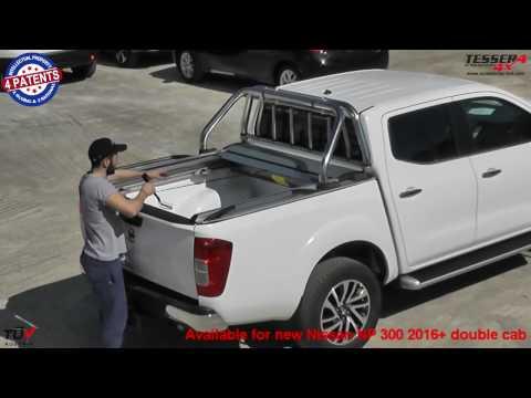 Nissan NP300-D23 2017+ aluminium rollo (Abdeckung)