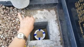 Burial of Urn - David Lim Kooi Hock (12th October 2016)