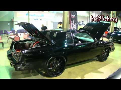 "ULTIMATE AUDIO: DARTH VADER Olds Cutlass on 24"" DUB Forged Wheels, LS3 & CTS-V Interior - HD"