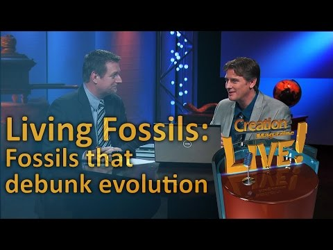 Living Fossils: Fossils that debunk evolution (Creation Magazine LIVE! 4-05)