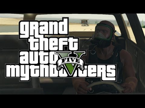How To Survive Driving Into The Ocean In GTA V (And Other Fun Facts)