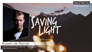 Ruben de Ronde - Gareth Emery & Standerwick - Saving Light (feat. HALIENE) De Ronde Remix