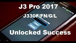 Samsung J3 Pro SM-J330G DS SIM Network Unlock Without Box Free