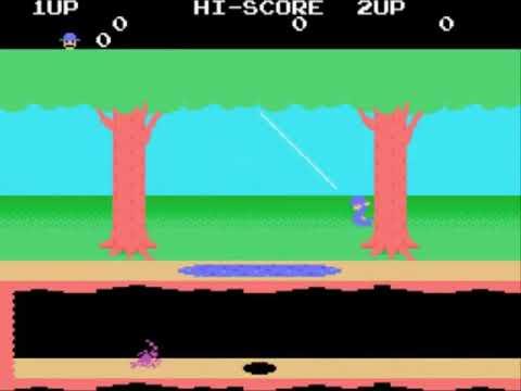 Pitfall II - The Lost Caverns (Japan) Sega - SG-1000 INGAME