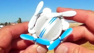 Z201YS Pocket Camera Selfie Drone Flight Test Review