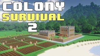Прохождение COLONY SURVIVAL: #2 - ВЕЛИКИЙ КАРЬЕР!