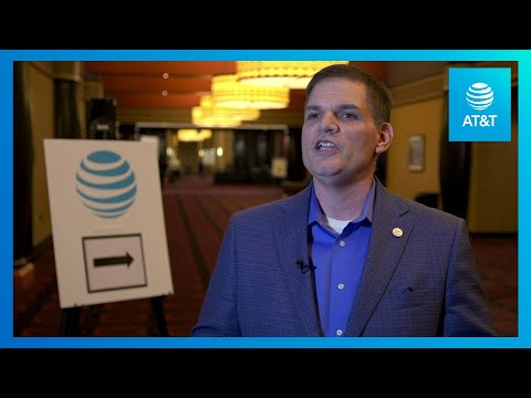 Joe Mosele Discusses the Network Evolution at CES 2019 | AT&T-youtubevideotext