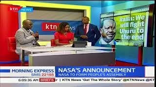 Raila Odinga: We will fight Uhuru Kenyatta to the end