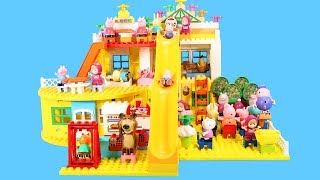 Lego Duplo Peppa Pig House Construction Set - Peppa Pig Legos Creations Toys For Kids #7