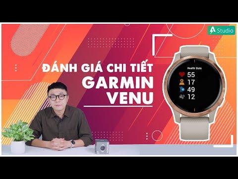 Review Garmin Venu| Chiếc đồng hồ GPS màn hình đẹp nhất ???