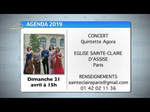 Agenda du 8 avril 2019