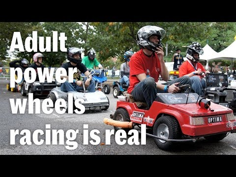 The Power Racing Series Is A F1 Series For Modified Power Wheels