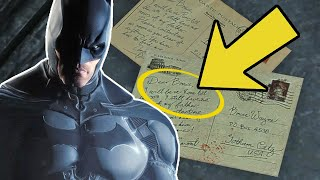 Batman: Arkham Origins - 10 Coolest Easter Eggs, Secrets And References Explained