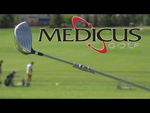 Medicus Dual Hinge Golf Training Aid