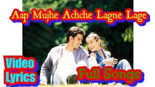 Aap Mujhe Achche Lagne Lage Lyrics   Abhijeet   - YouTube