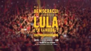 Pela Democracia e pelo direito de Lula ser candidato