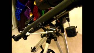Celestron Powerseeker 70AZ Telescope Review, Pt.1