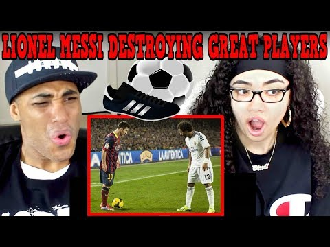 Download Lionel Messi Destroying Great Players ● No One Can Do It Better REACTION | MY DAD REACTS HD Mp4 3GP Video and MP3