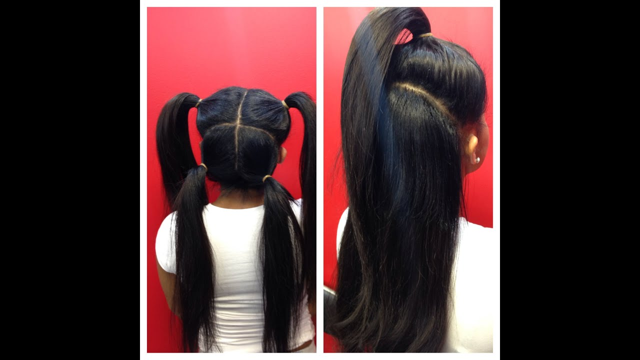Vixen sew-in weave braiding tutorial (Nynystyle1)