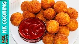 Картофельные Шарики с Сыром во Фритюре ♥ Рецепты NK cooking