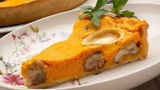 Tarta Salada De Calabaza, Castañas Y Queso De Cabra - Karlos Arguiñano