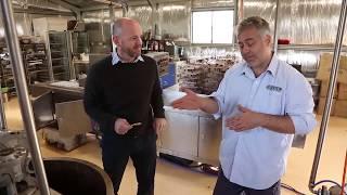 Minister Niall Blair Visits Orange Success Story Origin Chocolate