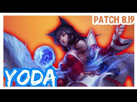 [BR] League of Legends | AHRI vs ZED | by YoDa | AHRI Mid