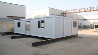 Hebei Baofeng 40ft Container House Installation