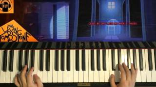 HOW TO PLAY - FNAF 4 Song - I Got No Time - The Living Tombstone (Piano Tutorial)