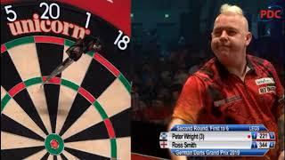 2019 German Darts Grand Prix  Round 2  Wright vs R.Smith