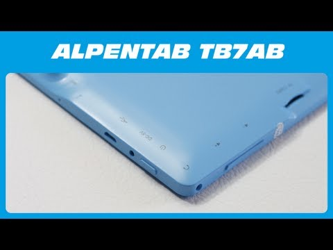AlpenTab TB7AB 7 Zoll Android Tablet PC Unboxing & Kurzreview