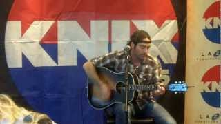 Josh Thompson - Won't Be Lonely Long - Live on KNIX Blind Date