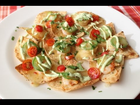 Shrimp & Jalapeno Nachos – Cinco de Mayo Party Food Idea