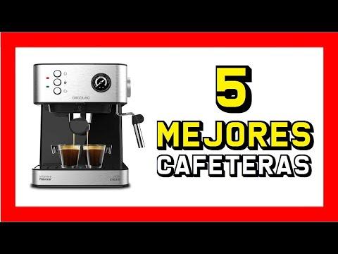 ☕ Las 5 mejores CAFETERAS espresso de AMAZON 2020