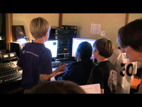 This video from a sound recording session with my students for a musical & video game project.