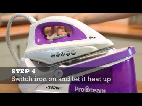 How to descale your Steam Generator Iron