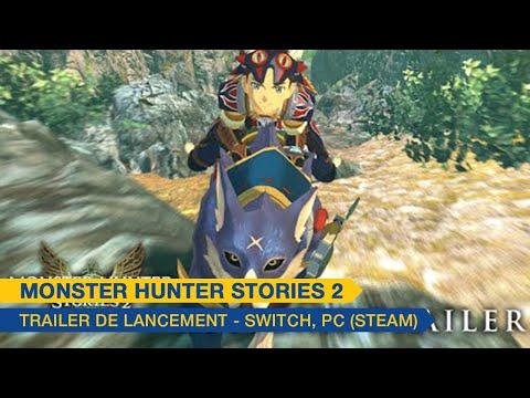 Trailer de lancement - Switch, PC  de Monster Hunter Stories 2: Wings of Ruin