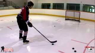 How To Take a Snapshot - On Ice Lesson - Howtohockey.com