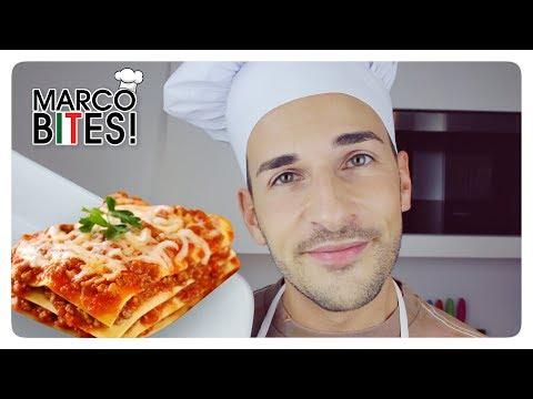 How to make authentic Italian LASAGNA ● MARCO BITES!