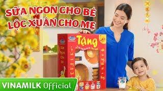 Quảng cáo Vinamilk - Khuyến mại Tết 2016 - Sữa ngon cho bé, Lộc xuân cho mẹ