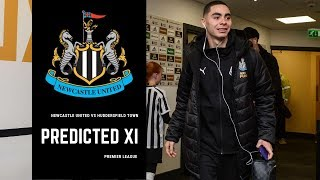 Newcastle United vs Huddersfield Town | Predicted XI