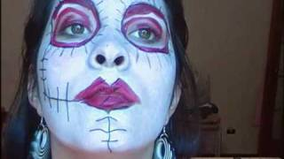 Voodoo Girl Make Up -  Entry for Danalajeunesse and CreatingBeauty's Halloween Contest